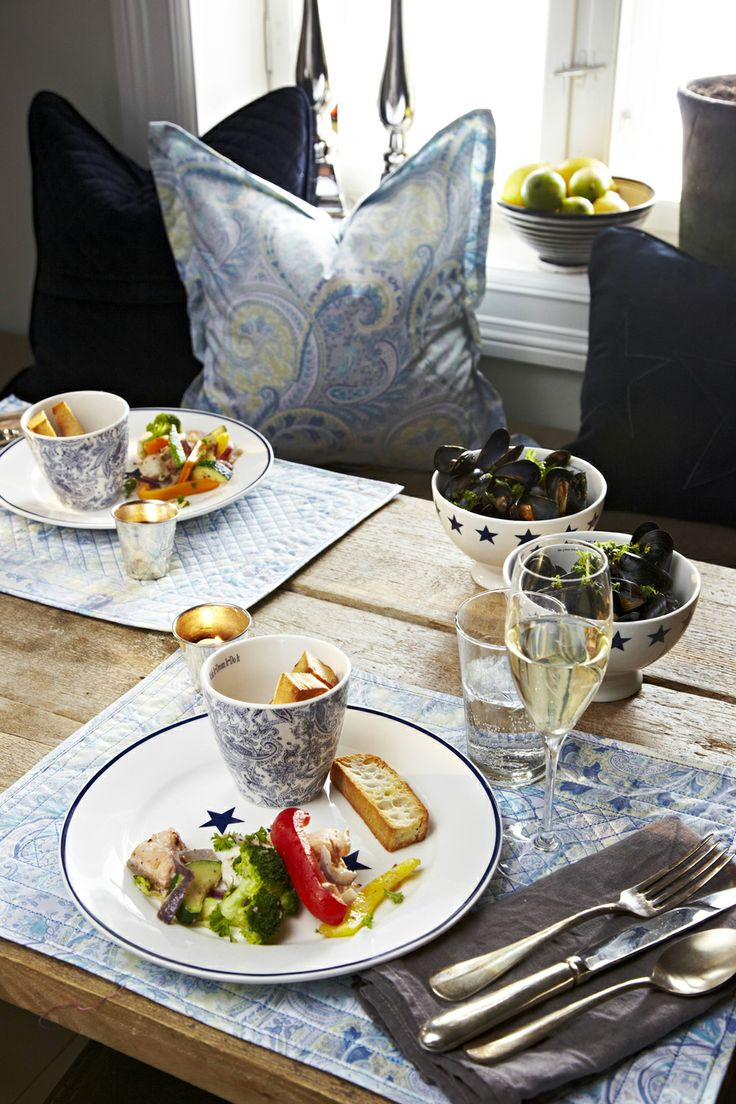 Prepare your table with florence! Florence Design velvet Paisley, Porcelain & Glas!