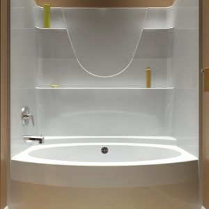 One Piece Bathtubs And Surrounds