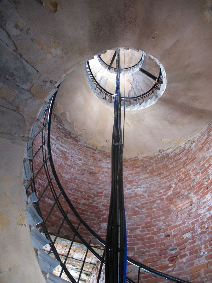 Lighthouse stairs, Bengtskär Finland  Photo Pirjo Pesonen