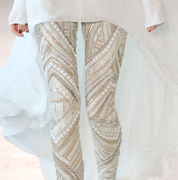 Interesting idea: Antonioberardi, Fashion, Style, Beads Legs, Pants, Antonio Berardi, Sequins, Tights, Legging