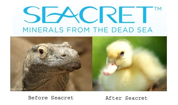 Yup the results from Seacret are just about this good !