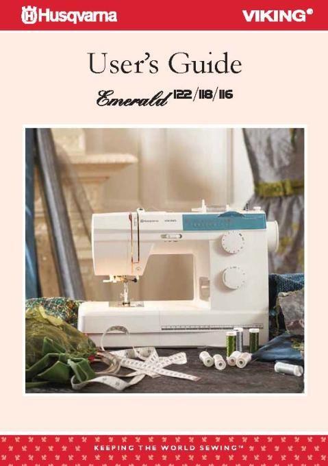 Husqvarna Emerald 404040 Sewing Machine Instruction Manual Simple Husqvarna 610 Sewing Machine