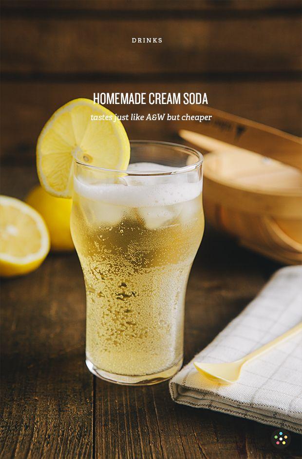 Homemade Cream Soda   Pepper.ph