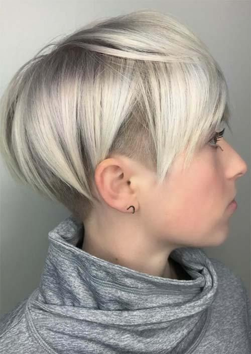 Cute Short Haircut Styles For Women Undercut Hairstyles