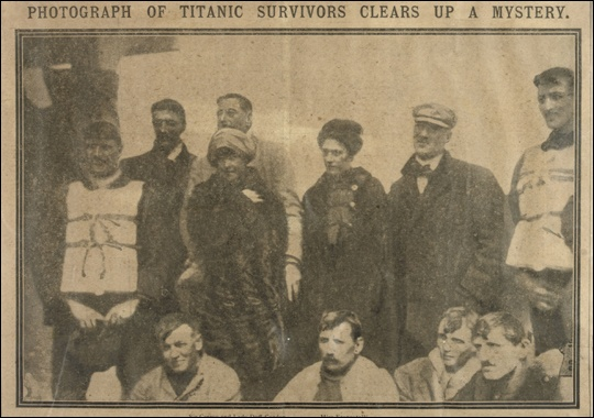 Laura Mabel Francatelli and Other Survivors