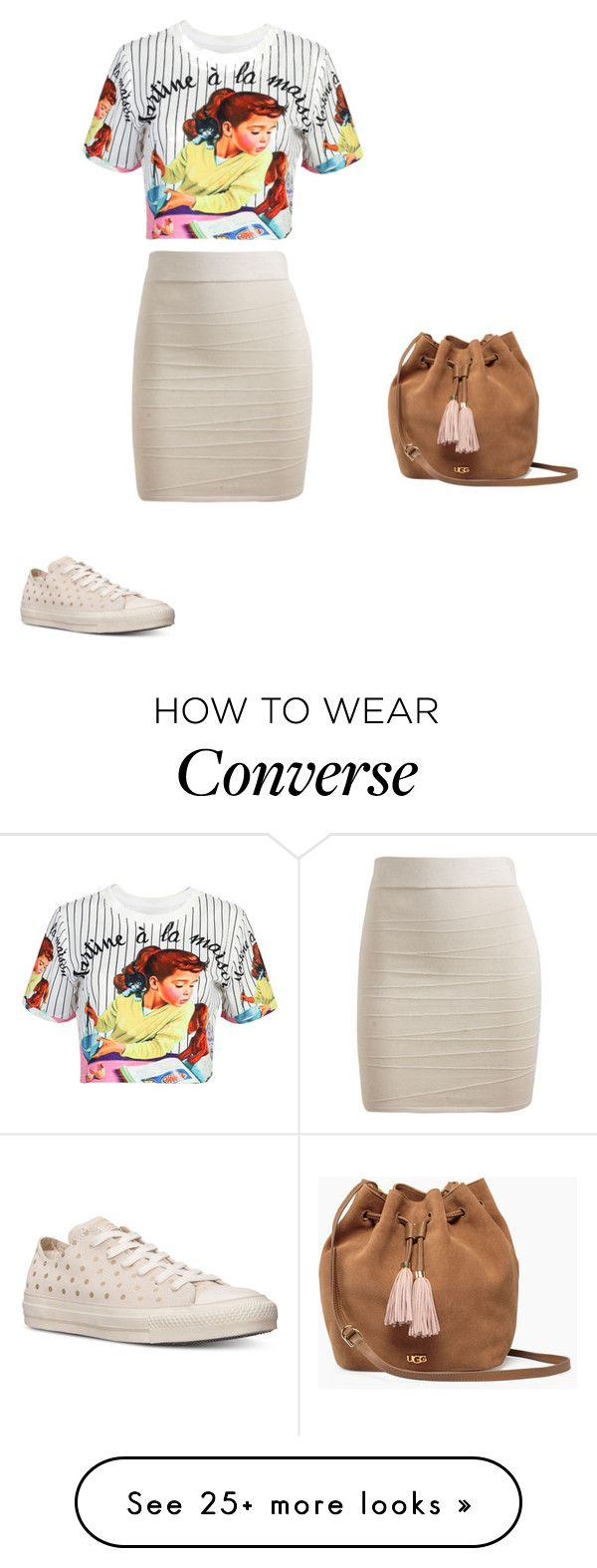 """""""Untitled #10326"""" by explorer-14576312872 on Polyvore featuring WithChic, Arden B., Converse and UGG"""