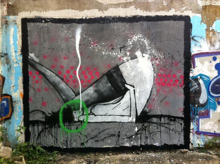 Fresque sur le site alstom
