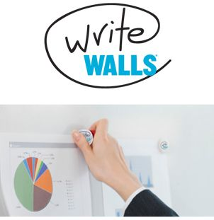 WriteWalls Dry Erase Commercial Wallcovering from Levey
