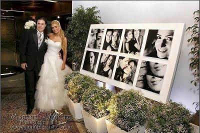 Casamento Econômico: Fotos na recepção.