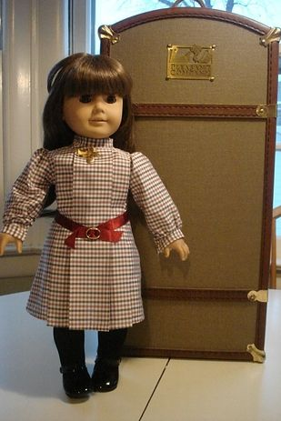 "Here's a Samantha doll (condition listed as ""used"") priced at $599 — she comes with several outfits and accessories. 