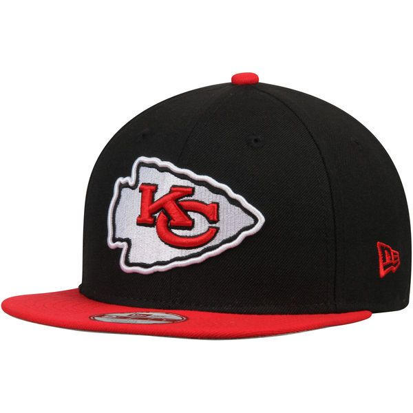 Men s Kansas City Chiefs New Era Black Southside Snap Original Fit 9FIFTY  Adjustable Snapback Hat dd167d26a