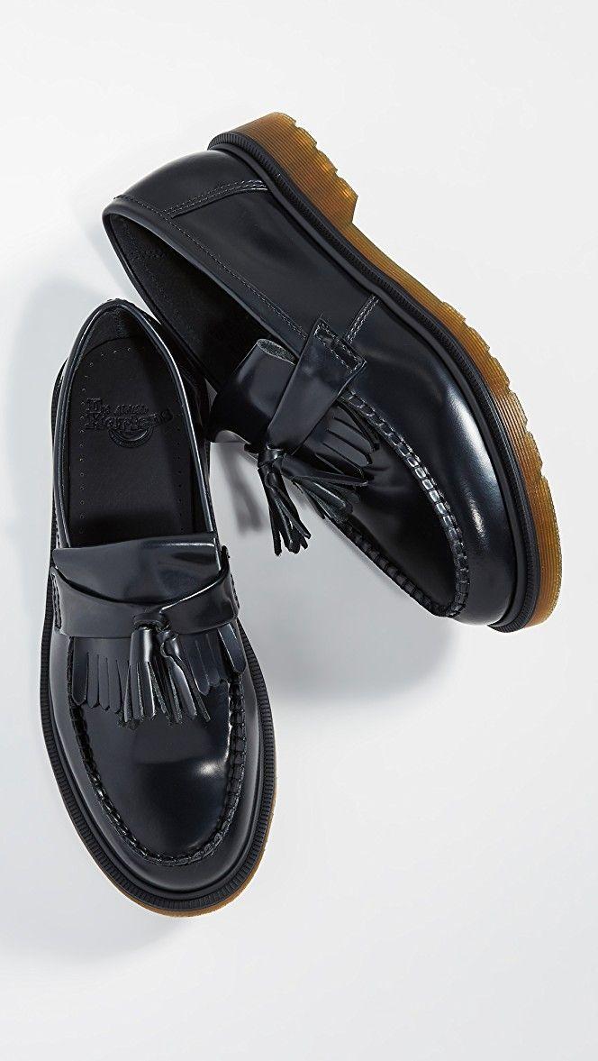 Dr Martens Adrian Tassel Loafers Loafers Slip On Dress Shoe Dress Shoes Men