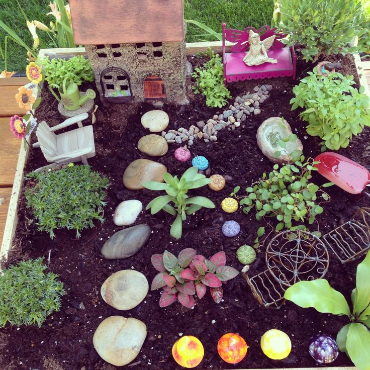 Classroom Garden Ideas ~ Fairy garden ideas for kids photograph my