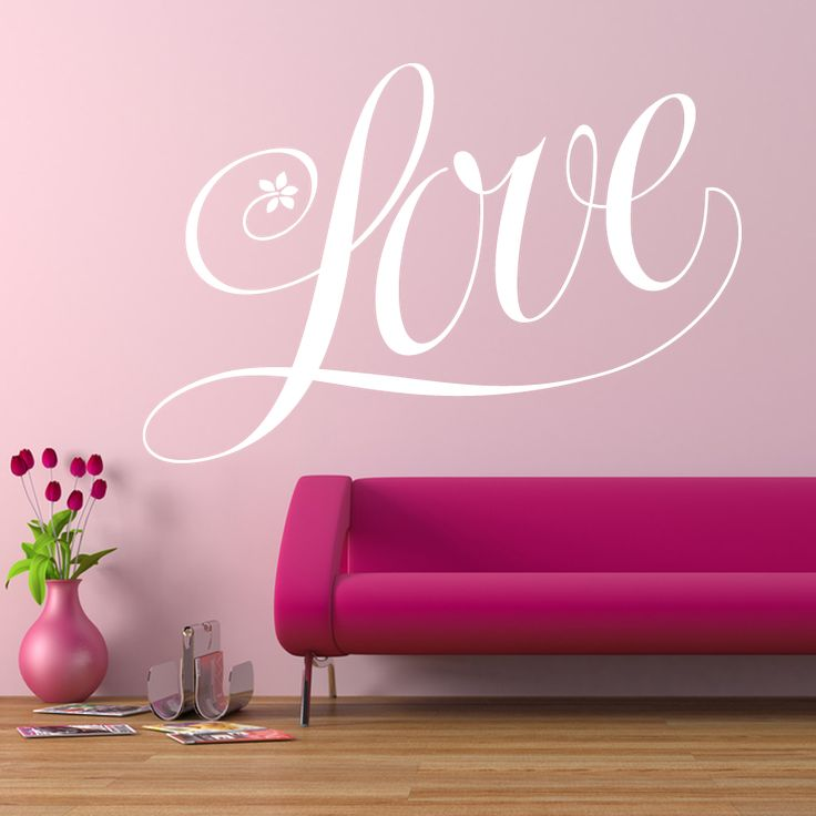 130 best Love Wall Decals images on Pinterest   Wall clings, Wall ...