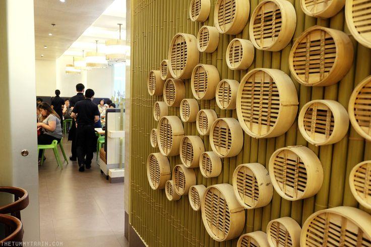 bamboo steamer wall art