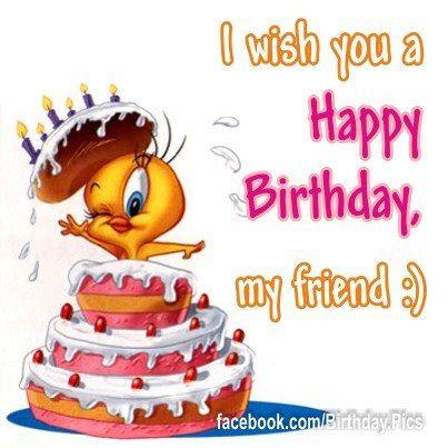Tweety Bird Happy Birthday!