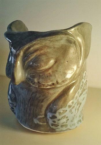 Owl Ceramics -by Dee Dee Comics