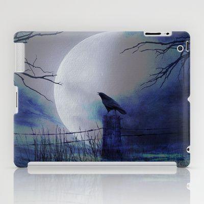 Whit this beautiful moon iPad Case by Oscar Tello Muñoz - $60.00