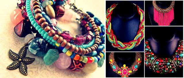 summer Ethnics kralen sieraden trends ketting armband