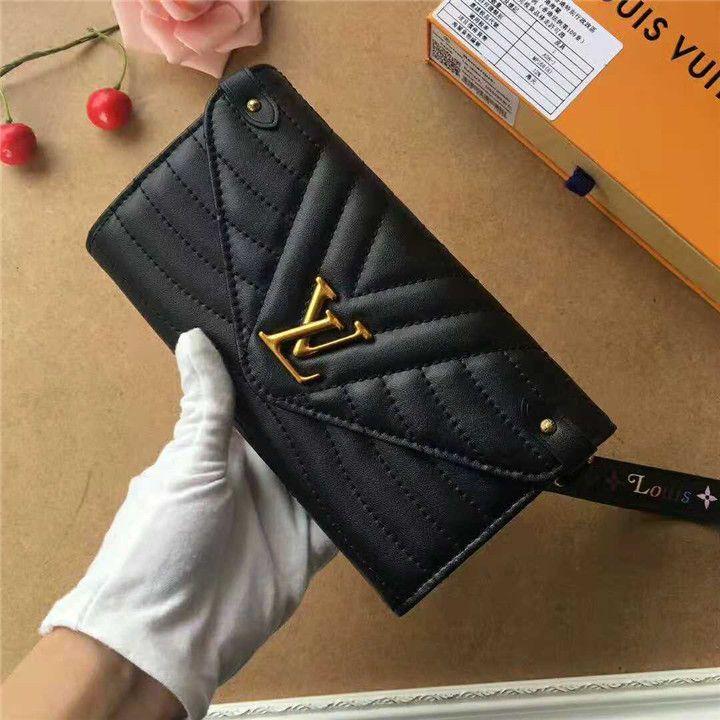 newest d31de 02065 ブラック ルイ・ヴィトン Louis Vuitton 財布 レザー レディース ...