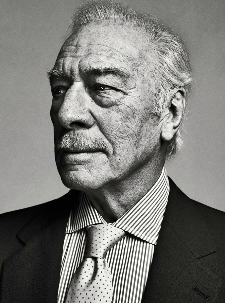 Christopher Plummer. I know he is older than the rest of the photos on this board, but he will always be gorgeous in my eyes!