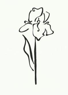 iris tattoo black and white - Google Search