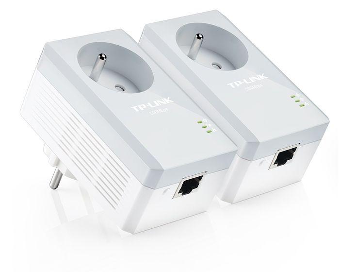 TP-LINK TL-PA4015PKIT 500 Mbps Pack de 2 Mini Adaptateurs CPL (1 Port Ethernet, Prise Intégrée): Amazon.fr: Informatique