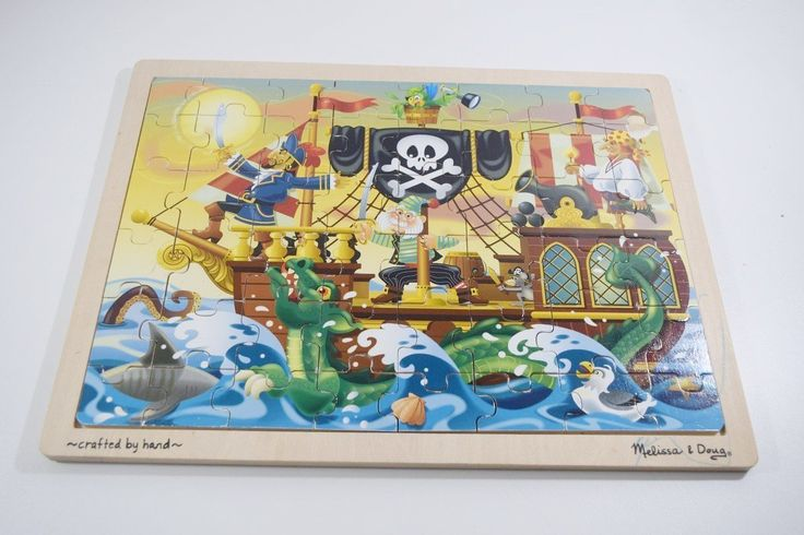 Just added Melissa & Doug - ... to our Inventory! Check it out here: http://oceanside-flipping.myshopify.com/products/melissa-doug-pirate-adventure-jigsaw-puzzle-48-pieces?utm_campaign=social_autopilot&utm_source=pin&utm_medium=pin  #Oceanside #OceansideCA #SanDiego #4Sale #Buy #Trade #Sell