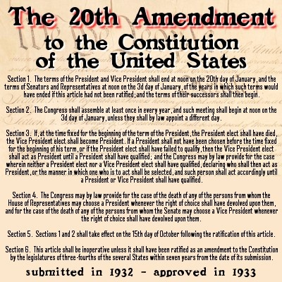 united states constitution and twentieth century The fifteenth amendment (amendment xv) to the united states constitution prohibits the federal and state governments from denying a citizen the right to vote based on that citizen's race, color in the twentieth century.
