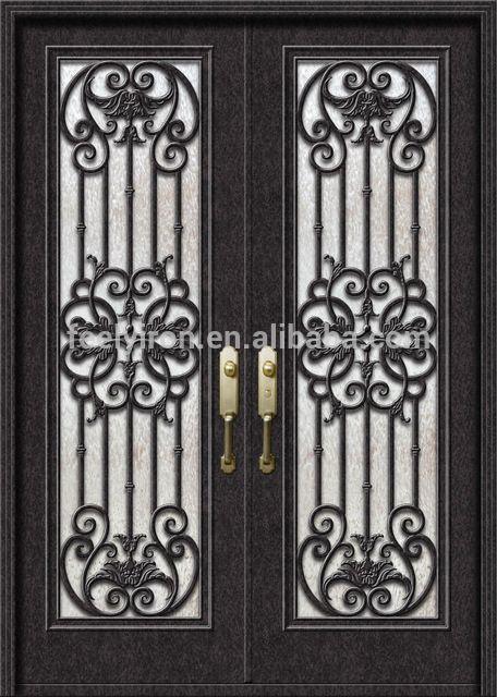 M s de 1000 ideas sobre puerta de entrada en pinterest for Puertas de hierro para entrada principal