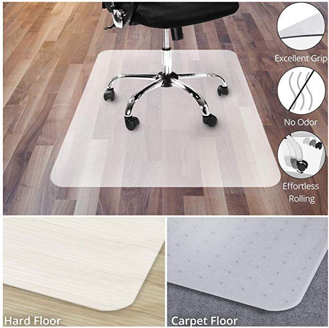 Amazonsmile Office Chair Mat For Hardwood Floor Opaque Office Floor Mat Bpa Phthalate And Odor Fre In 2020 Office Chair Mat Small Office Chair Office Floor Mats