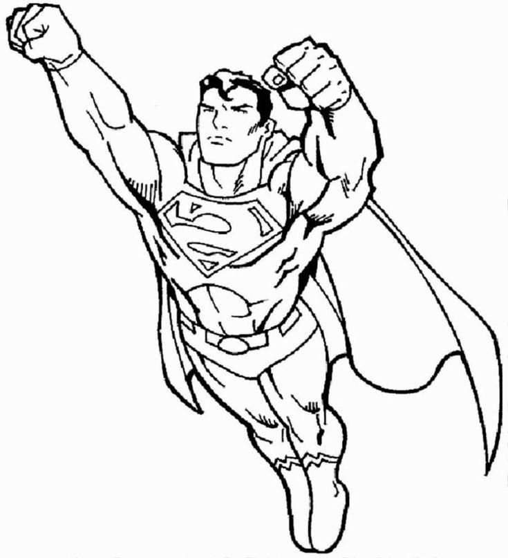 Superman Superhelden Malvorlagen Zum Drucken Und Ausmalen Superhelden Malvorlagen Farben Superhero Coloring Superhero Coloring Pages Coloring Pages For Boys