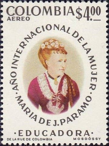 Bélyeg: Maria José Collazos (Kolumbia) (Intl Women Rights) Mi:CO 1295,Sn:CO C624,Sg:CO 1383