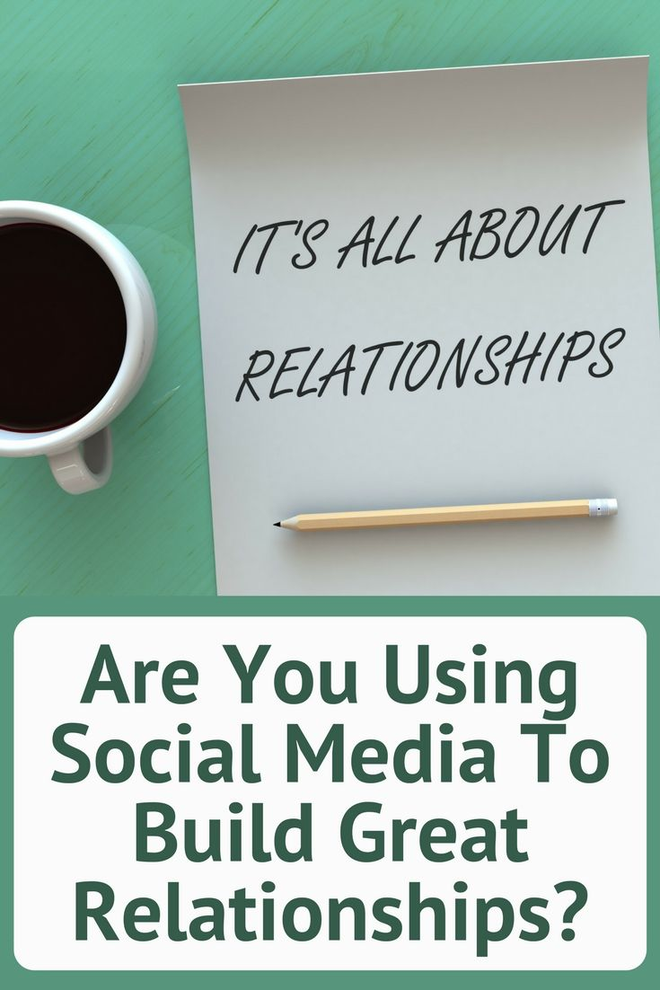 Social media is a relationship building tool and you should use it as such. Are you? | social media | social media marketing |  http://simplysocialyou.com/blog/social-media-relationship-building/