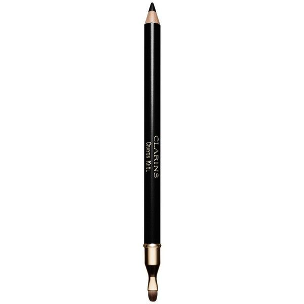 Clarins Crayon Khol Eye Pencil (100 BRL) ❤ liked on Polyvore featuring beauty products, makeup, eye makeup, eyeliner, apparel & accessories, black, eye pencil makeup, clarins, pencil eyeliner and clarins eyeliner