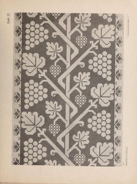 Gallery.ru / Фото #52 - Musterbucher altitalienischer Leinen Stickerei 1881 - shtushakutusha