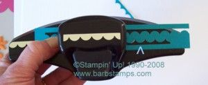 TUTORIAL - New Scallop Edge Punch makes Ric Rac in any color - Stampin' IS my job!! Barb Mullikin Stampin' Up! Demonstrator