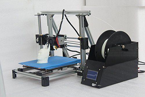 FUNFLAG Prusa I3 RepRap 3D Printer DIY Kit, Fused Deposition Modeling(FDM) 0.4mm Nozzle, Metal Framework with 1Kg PLA Filament ** For more information, visit image link.