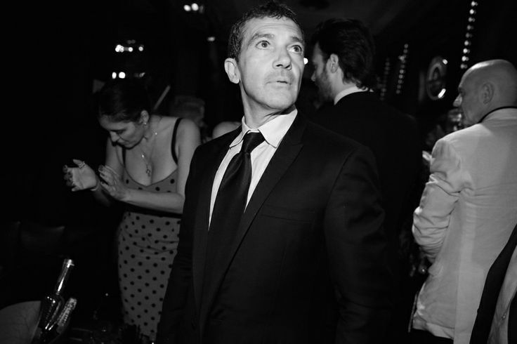 Antonio Banderas lors de la soirée en l'honneur du film The Expendables 3 au Gotha