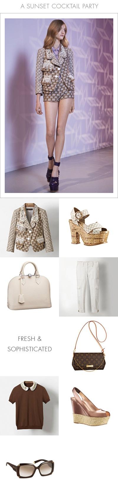 Scopri come Kim Hersov abbina i capi e gli accessori delle collezioni @Louis Vuitton Cruise 2013 e Icone