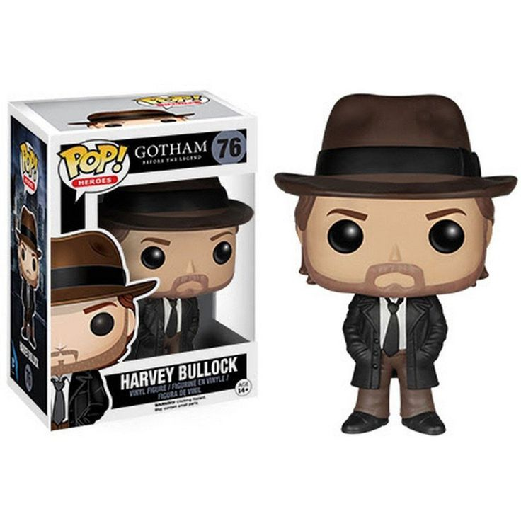 Gotham POP Harvey Bullock Vinyl Figure