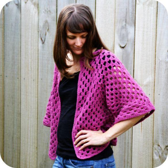 Cute Bolero Free Crochet Patterns : 17 Best ideas about Crochet Bolero Pattern on Pinterest ...