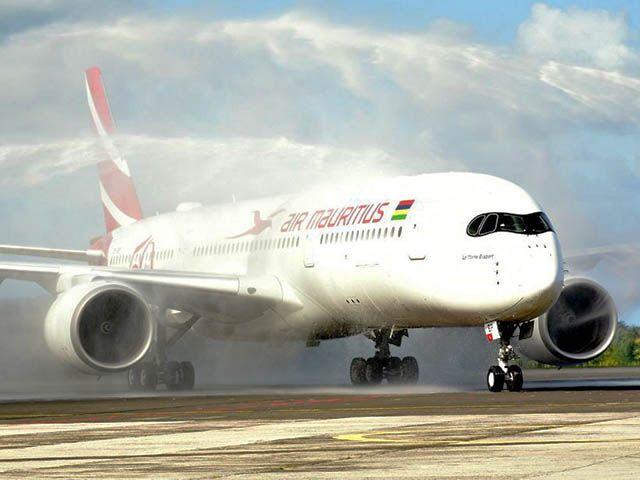 L'A350 d'Air Mauritius s'envole vers l'Asie du sud-est