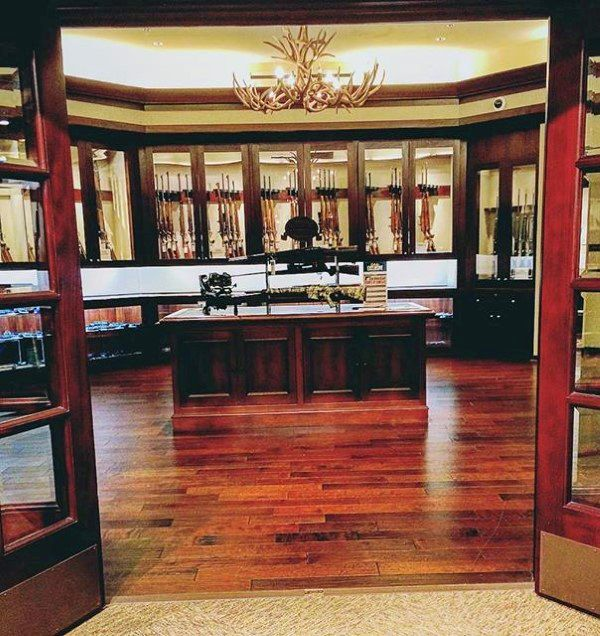 126 best awesome gun rooms images on pinterest for Gun vault rooms