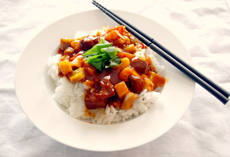 Slow Cooker Sweet and Sour Chicken | Food | Pinterest