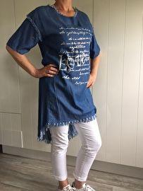 zomertuniek - jeanslook