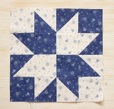 Я люблю пэчворк | I love patchwork | мк. блок звезда