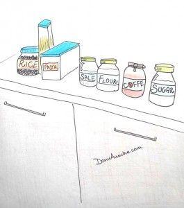 Saper organizzare la dispensa