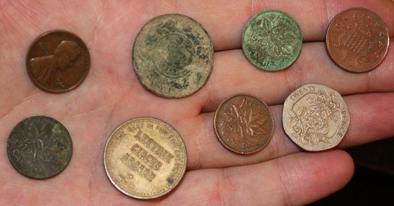 Circulated Vintage Canadian ETC Coin by VariedTreasureFinds