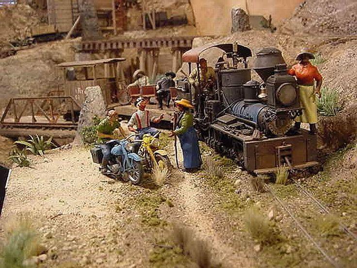 The Mogollon Railway Narrow Gauge Model Railroad Layout